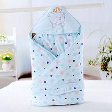 Sacos de dormir do bebê Unisex envoltório recém-nascido 0-6 meses receber cobertores Cobertor de algodão estilo(China (Mainland))
