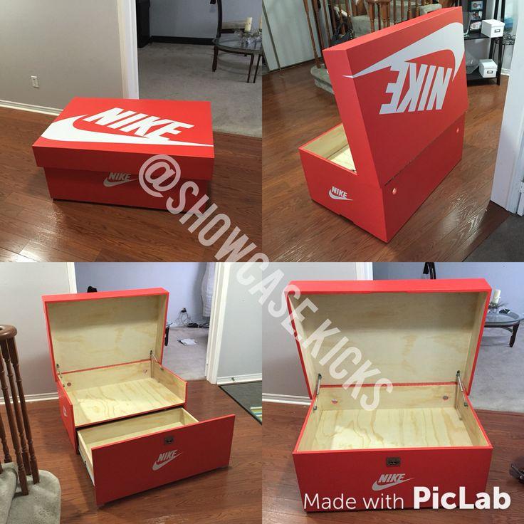 8 meilleures idées sur diy shoes box nike   boite a chaussure ...