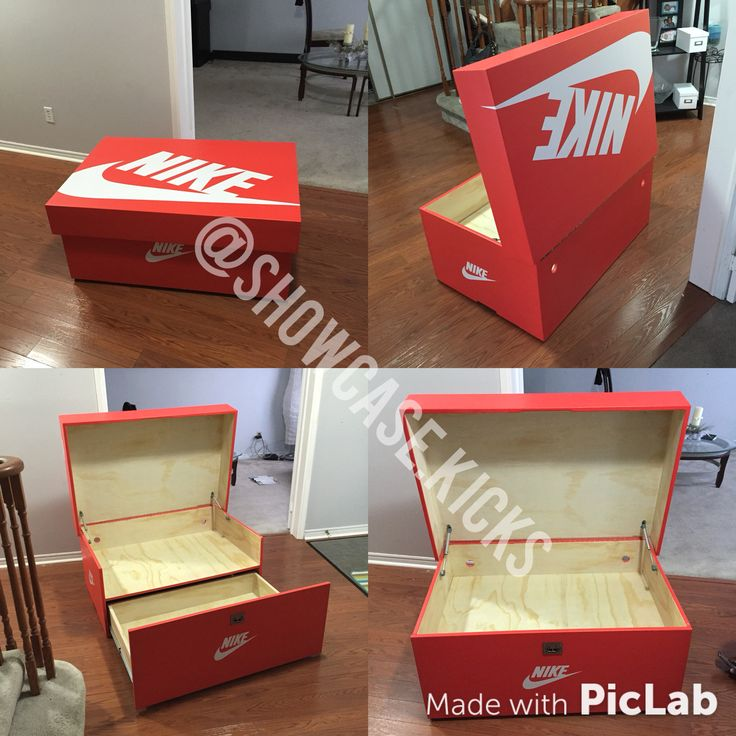 Another Nike Showcase shoebox. Sneaker storage at its finest! Toronto stand up!!