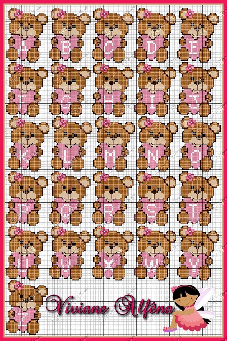 Bom dia!! Mais uma semana iniciando, e com a graça de Deus!! Que seja uma semana bem produtiva. Hoje, vim postar o mono completo da Urs...
