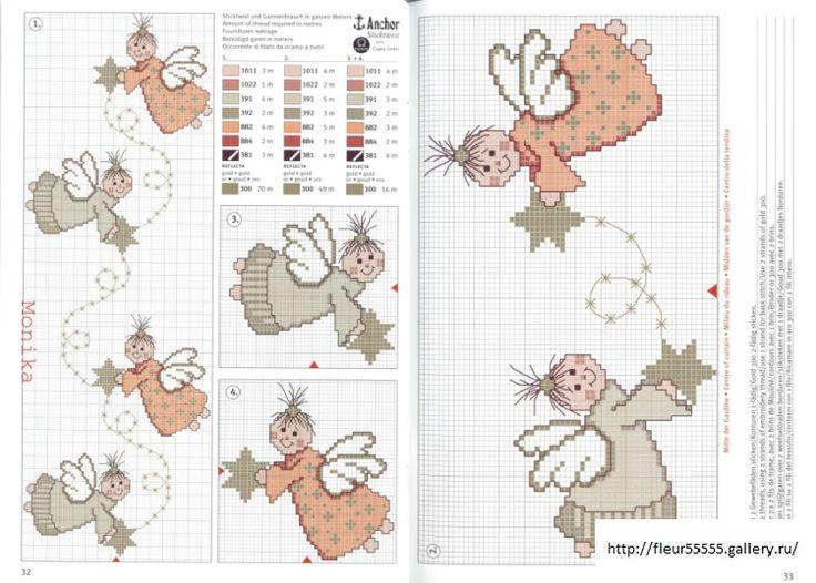 Angeli crossstitch - Rico 79,80, 81,82, 83 - Fleur55555