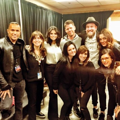 byjakebailey: Thank you @selenagomez britreece lonavigi aleenkeshishian and ashley_cook for another #amazing and #inspiring #weday!!