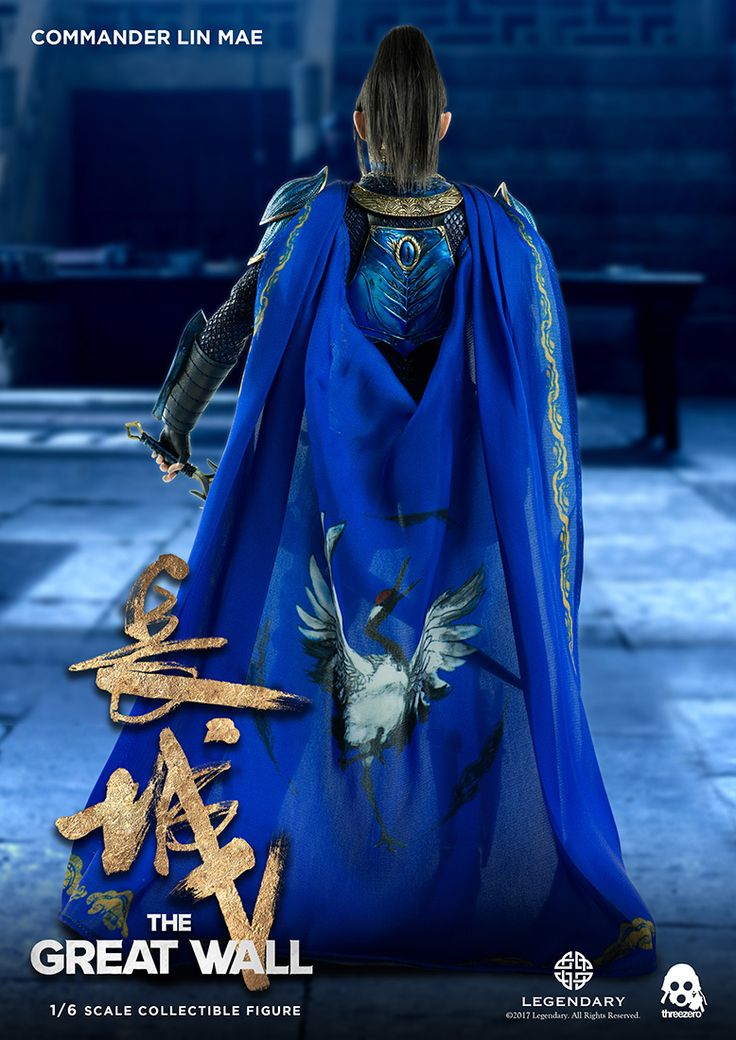 """Threezero has released their 1/6 scale Commander Lin Mae collectible figure for pre-order. From """"The Great Wall"""" movie license, the figure retails for $168.00 with worldwide shipping included in the price. The Commander Lin Mae collectible figure stands approximately 11 inches tall and features highly-accurate life-like likeness to Jing Tian (景甜) as she portrayed Lin Mae in the film. The figure features realistic synthetic hair, and comes with tailored clothing and highly detailed armor ..."""