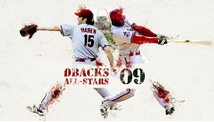 All stars Dbacks, Fictional characters, All star