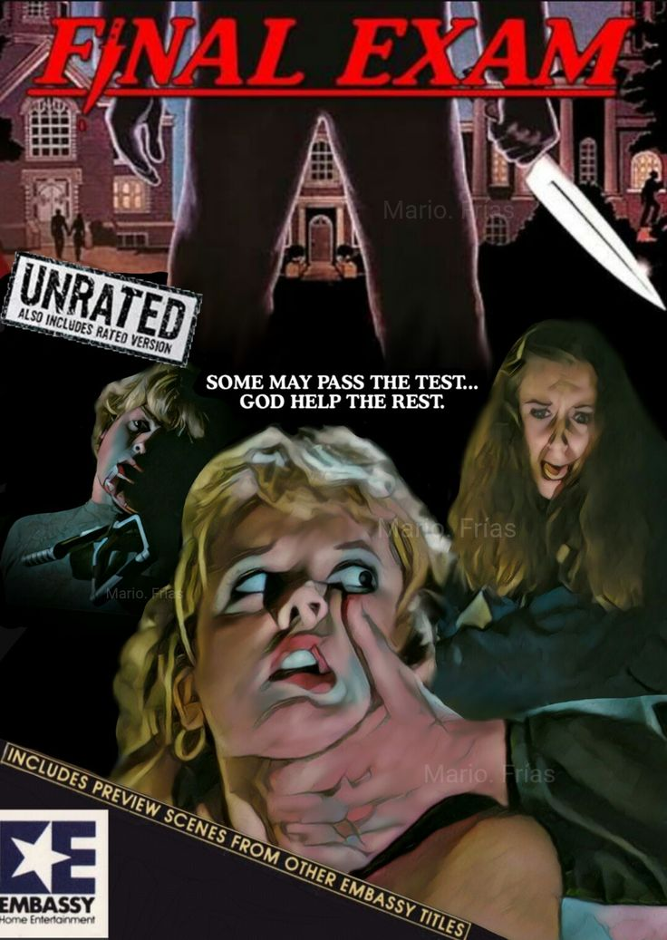 Final Exam 1981 Horror Movie Slasher Fan Made Edit by Mario. Frías