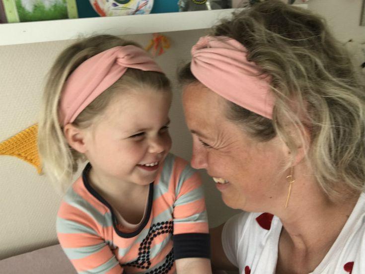 DIY: zelf een haarband maken voor jezelf en je dochter! – diy