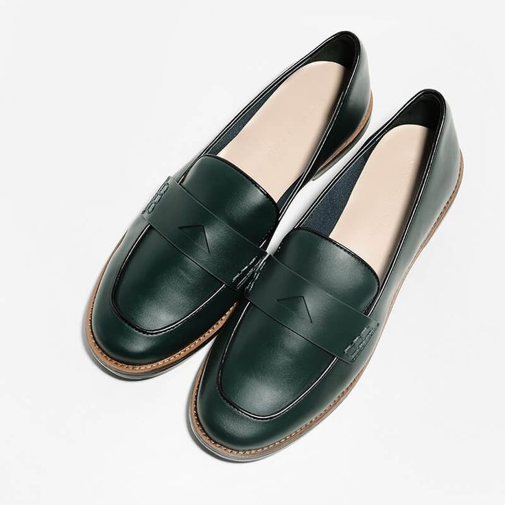 Piped Detail Loafers   CHARLES & KEITH