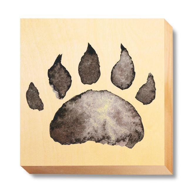CHI 057 Children's Art - Watercolour Bear Claw