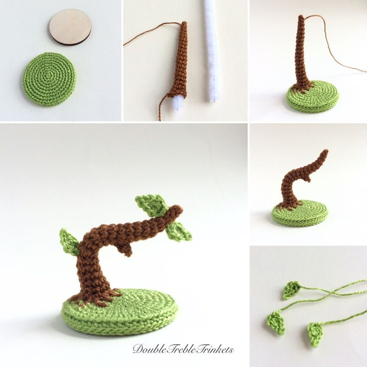 Free instructions on how to make this cute mini tree, perfect for sitting owls