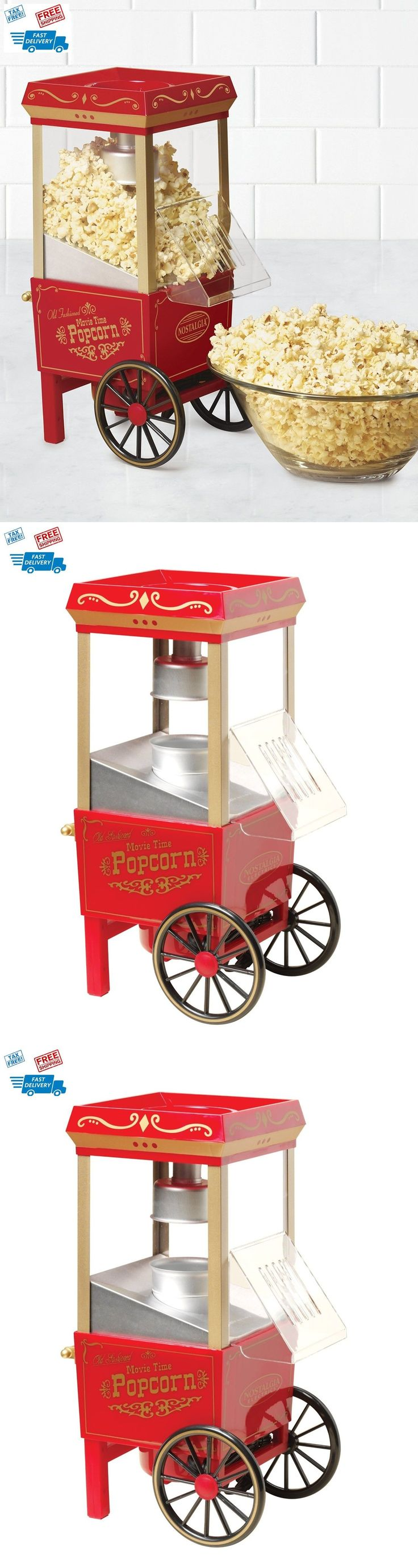 Popcorn Poppers 66752: Electric Popcorn Old Fashioned Corn Popper Kettle Machine Maker Movie Home Party -> BUY IT NOW ONLY: $77.02 on eBay!
