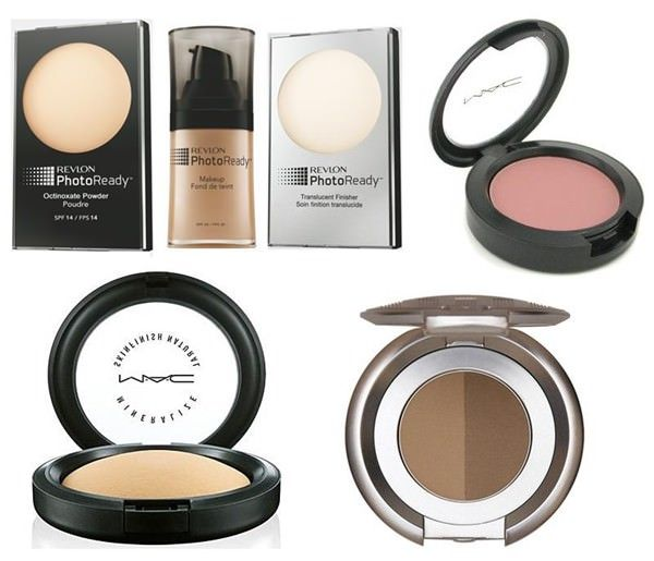 """Linha PhotoReady da Revlon. O pó translúcido para acabamento também é bom! Ganha até mesmo do Prep + Prime Transparent Finishing Powder da MAC e do De-Slick da Urban Decay. E o pó compacto da marca. Aliás, tudo o que for Revlon PhotoReady é bom. A base custa US$ 13 e os pós US$ 12 cada um."""