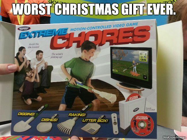 Worst Christmas Gift Ever