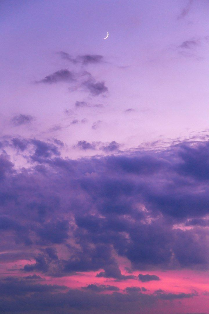 Novosti Purple Skyline Horizon Purple Sunset Sky Aesthetic