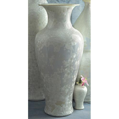 Classic Urn With Mother Of Pearl Effect Tozai Home Vases Vases Home Decor