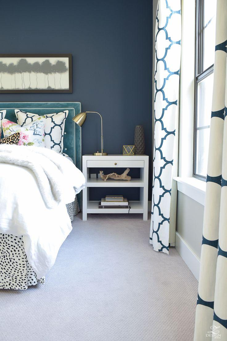 My house wednesday inspiration benjamin moore quot gentleman s gray - A Cozy Chic Guest Room Retreat Update Part 1