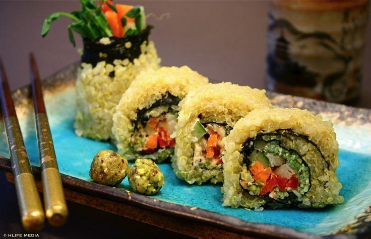 Quinoa Sushi | Best Food Ever | Pinterest