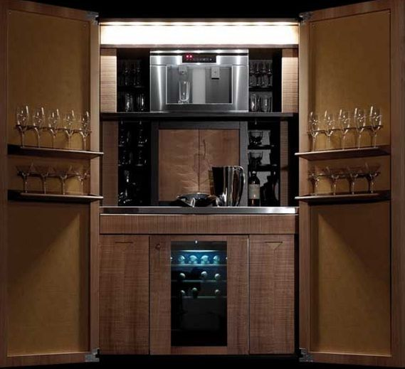 Bar dise o italiano licoreras pinterest kitchen - Muebles bar diseno ...