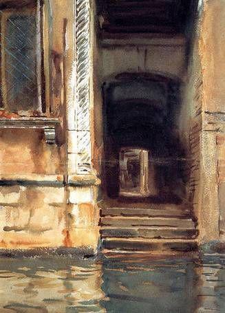 Venetian Doorway - John Singer Sargent