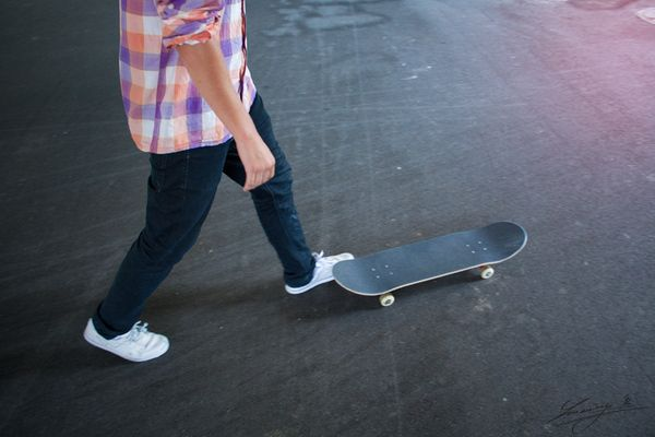 Skate day with Jakub Ivančík by Lukáš Smiešny, via Behance