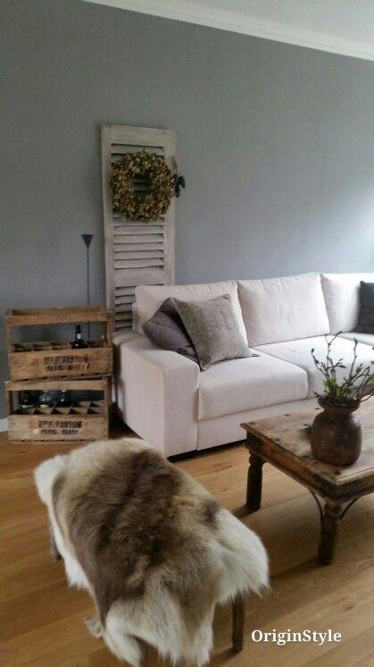 Mooi grijze kleur, Painting the past kleur Loft. Sober en stoer