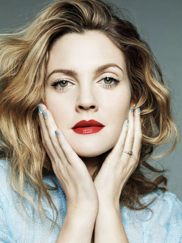 DREW BARRYMORE in Marie Claire Magazine, February 2014 Issue ...