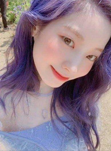 Twice Memes On Twitter In 2020 Twice Dahyun Purple Hair Twice