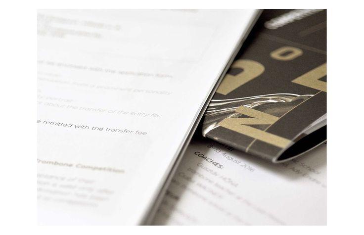 International Trombone Competition Image - Graphasel Design Studio