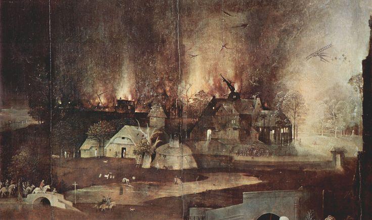 Bosch, Hieronymus: Antoniusaltar: Versuchung des Hl. Antonius, Detail [2], 1505-1506