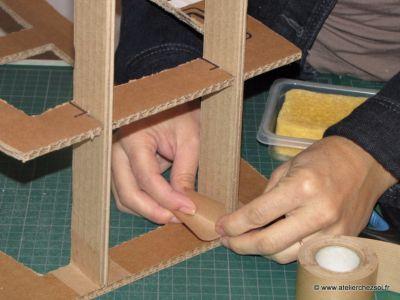Comment apprendre à créer ses meubles en carton avec L'Atelier Chez Soi