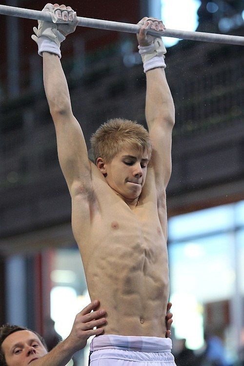 from Daniel young gay gymnasts