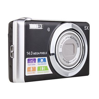 14.0MP CCD Digital Camera with 5X optical zoom DC-T500 – EUR € 123.74