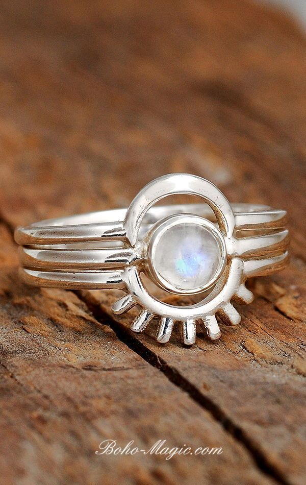 Gemstone Ring Dailywear Ring Midi Band Ring Tiny Ring Rainbow Moonstone Ring Wedding Ring Stacking Ring Girls Ring 925 Silver Ring