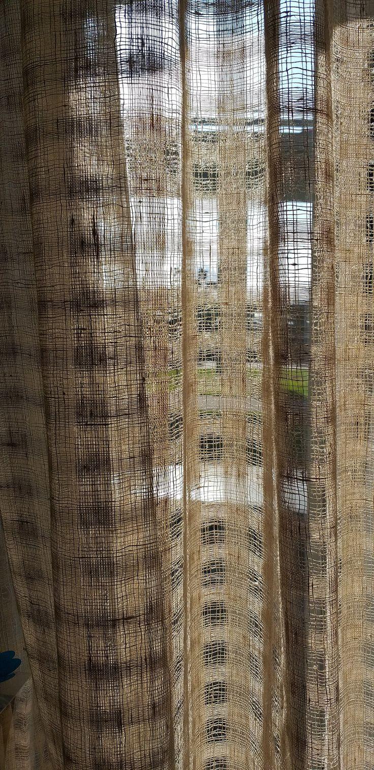 check burlap sheer linen curtains custom curtain door curtain farmhouse curtains kitchen on farmhouse kitchen curtains id=80606