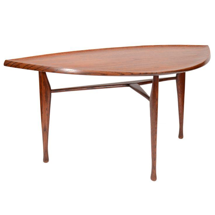 Rare Yngve Ekstrom Leaf Table
