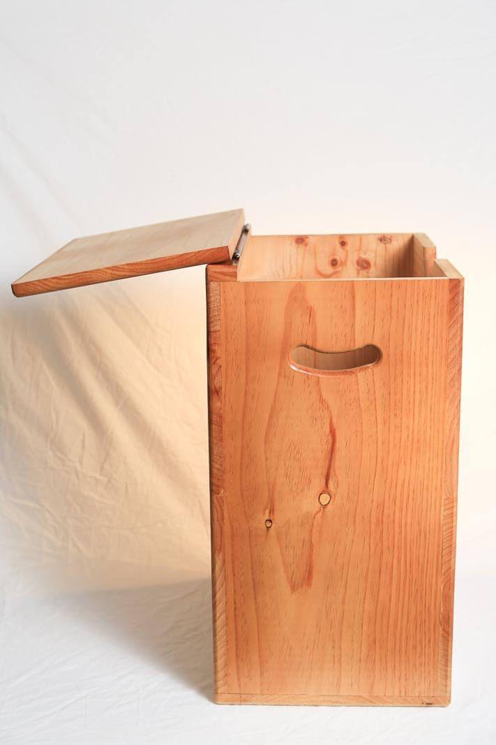 best 25 wooden laundry hamper ideas on pinterest wooden. Black Bedroom Furniture Sets. Home Design Ideas