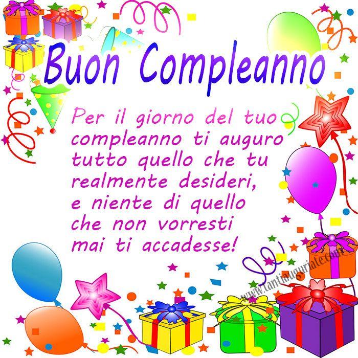 Per il giorno del tuo compleanno ti auguro tutto quello che tu realmente desideri #compleanno #buon_compleanno #tanti_auguri