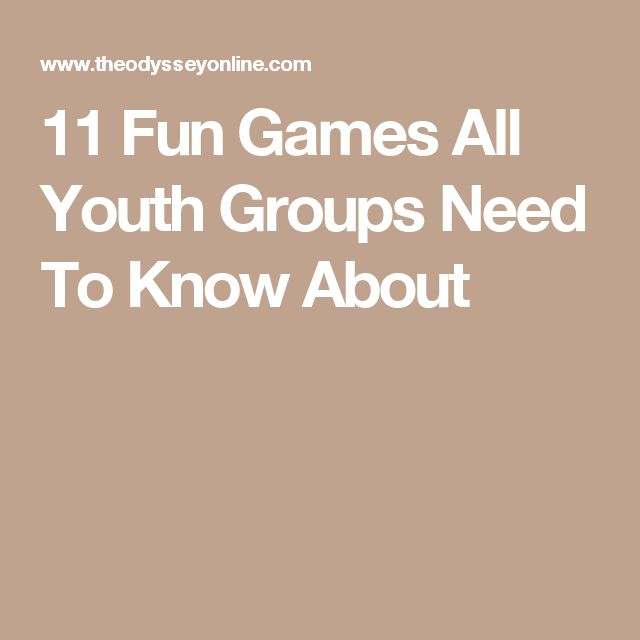 11 Fun Games All Youth Groups Need To Know About                                                                                                                                                                                 More
