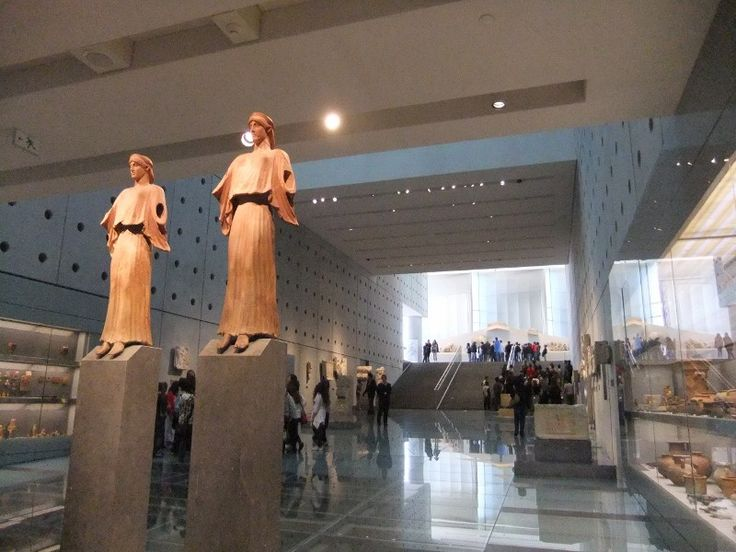 The entrance of the #Acropolis museum in #Athens is glorifying. #VisitAthens and stay at the #boutiquedesignhotel #Athenswas