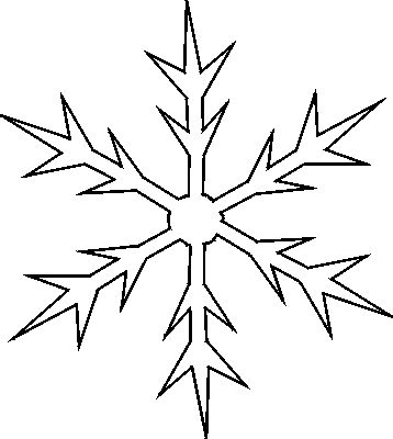 Best Snowflake Patterns Images On   Paper Snowflakes