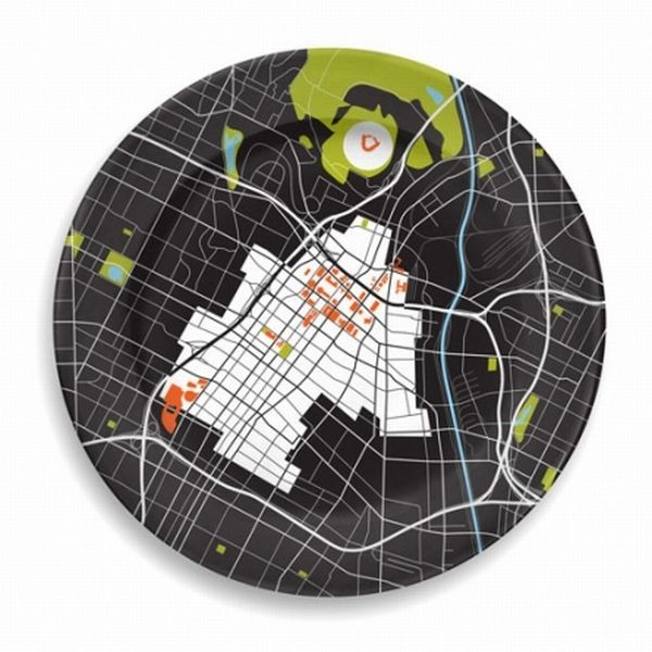 Fantastic Design Idea for the Gourmands: City on a Plate Collection