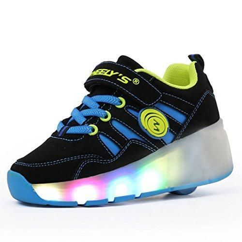 Oferta: 59.99€ Dto: -60%. Comprar Ofertas de Meurry Niños Unisex LED Luz Parpadea Ruedas Zapatillas Auto-párrafo Roller Zapatos Patines Deportes Zapatos Correr Para Niños barato. ¡Mira las ofertas!
