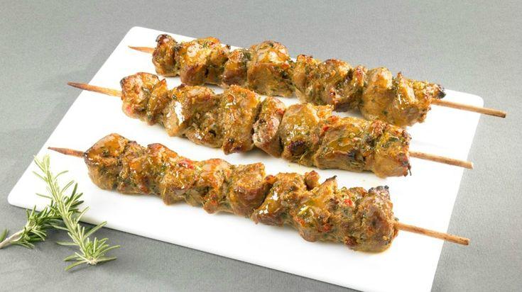Brochette de dinde Brûle-graisse au Paprika/citron