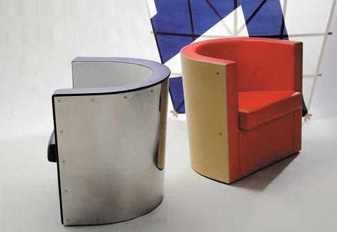 Poltrona Pressa (D62) - design El Lissitzky - Tecta