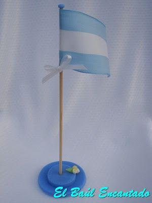 EL BAUL ENCANTADO: BANDERA ARGENTINA y ESCARAPELA