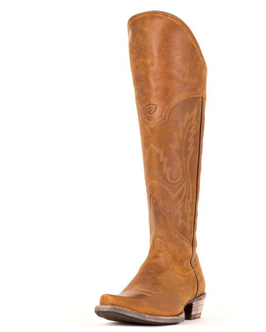 Rugged yet feminine Ariat boots! http://www.countryoutfitter.com/products/30475-womens-murrieta-boot-soft-distressed-brown #Ridingboots