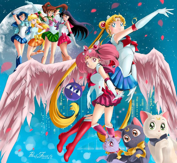 2326 Best Images About Fighting Evil By Moonlight: Sailor