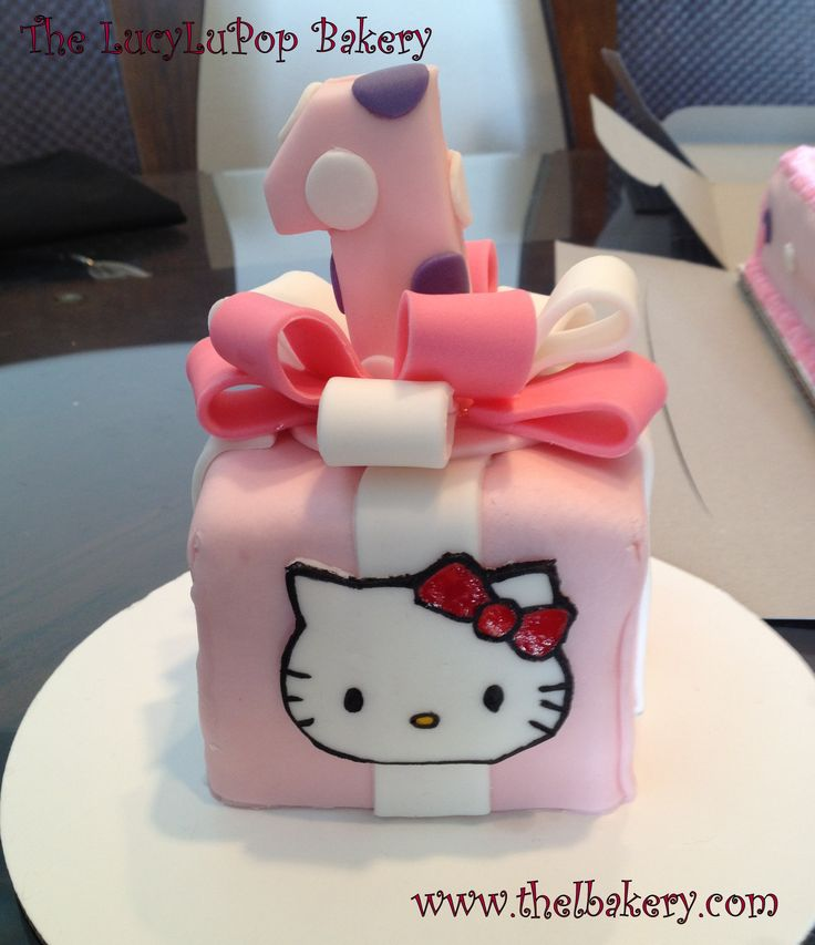 25 best HK cakes images on Pinterest Hello kitty cake design
