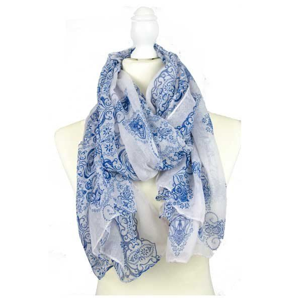 The Chimalis Scarf Add a little colour and a lot of style to your outfit with this beautiful scarf.