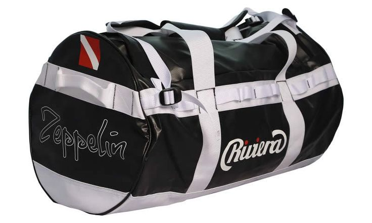 Riviera   Our Products  65L TRAVEL BAG  5000 PVC Tarpaulin  58 x 35(dia) cm  WATER-PROOF