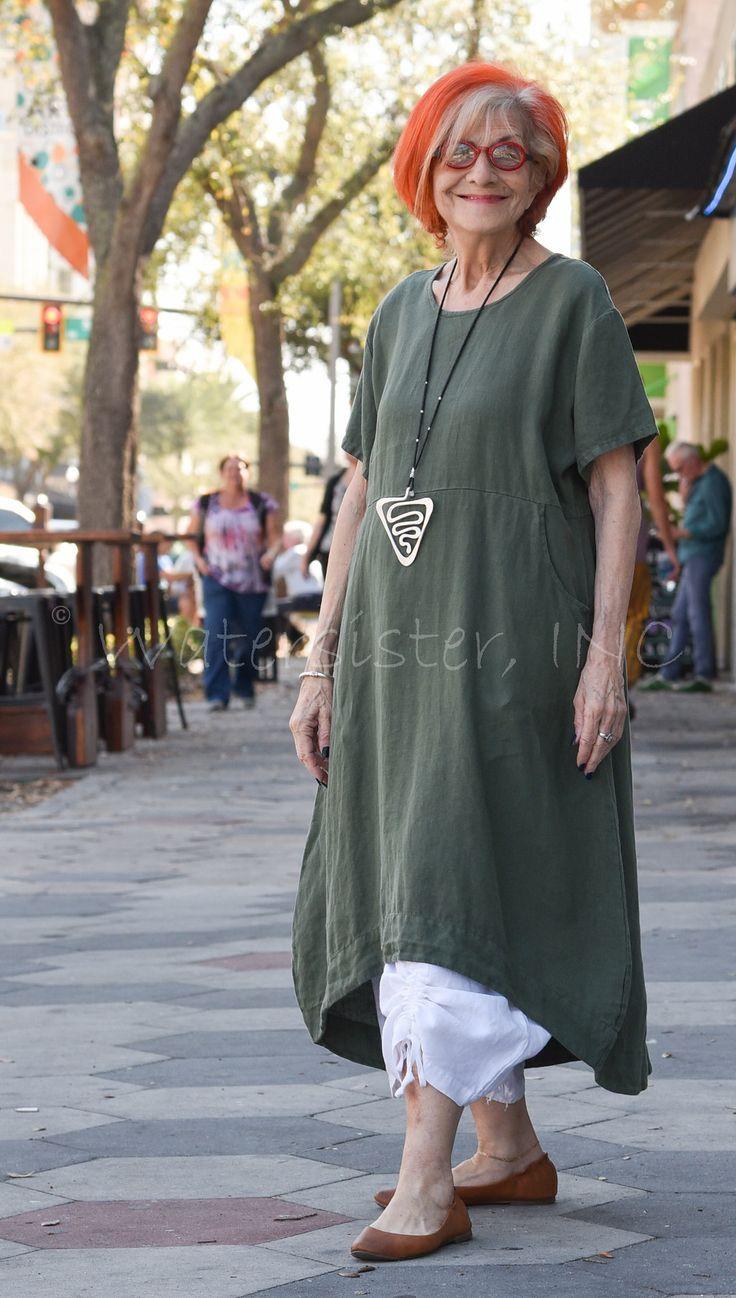 The MARINA DRESS in light linen by Bryn Walker, in solid or basketweave #linen…
